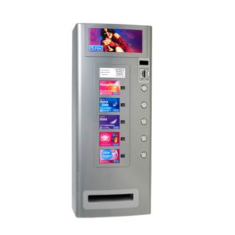 Vending Machine 5 zilver grijs