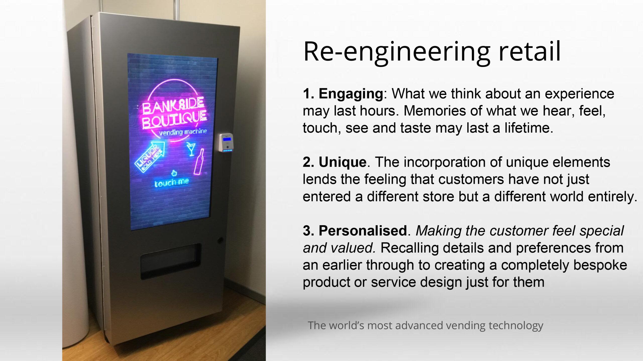 Ontwerp uw eigen vendingmachine
